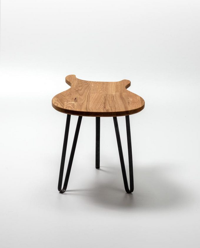 Ruwdesign Guitar Table Paul Back