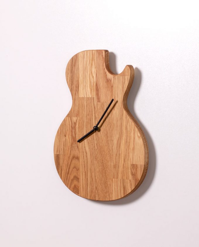 Gitaar-Klok-Single-Cut-Ruwdesign