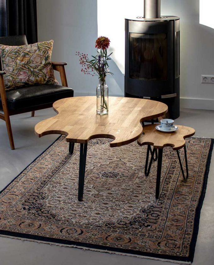 Ruwdesign-Guitar-Coffee-Table-Double-Cut-Combo